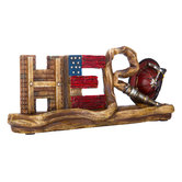 Hero Firefighter Decor